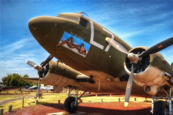 Douglas C-47 Skytrain at Castle Air Museum