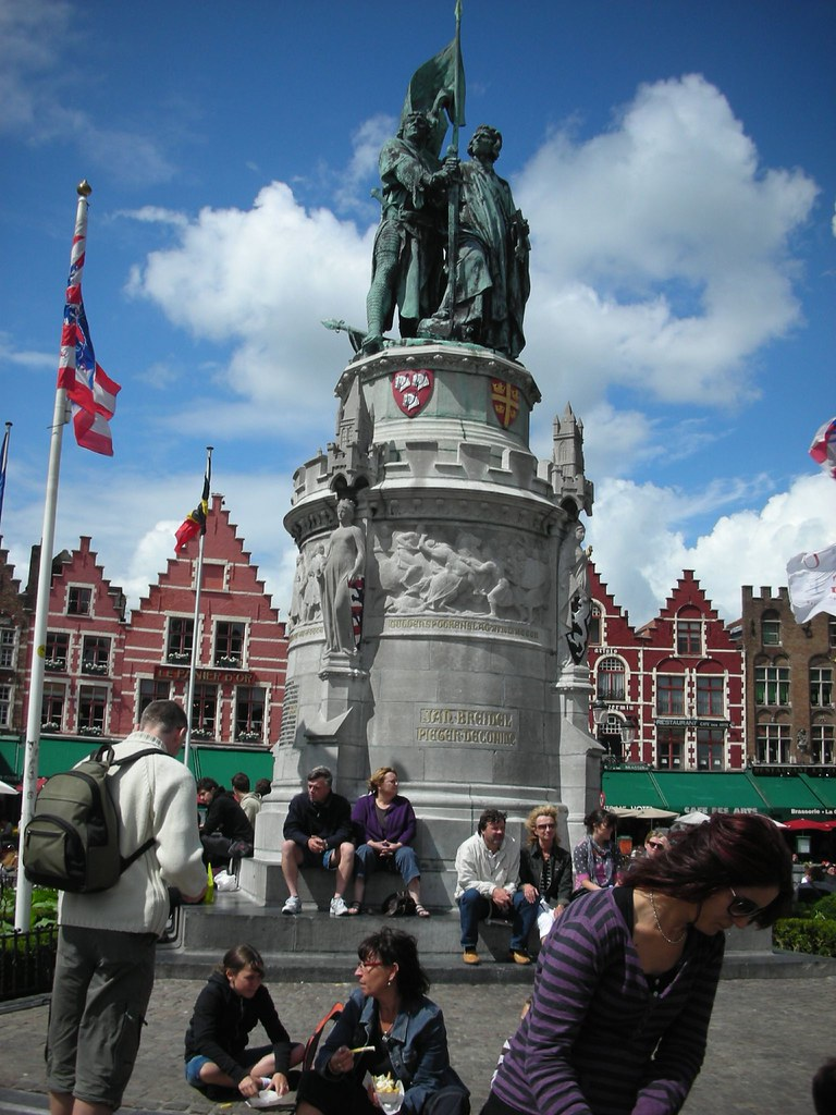 Brugge's Main Square
