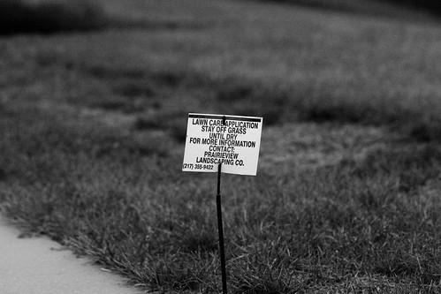 Greenway sign