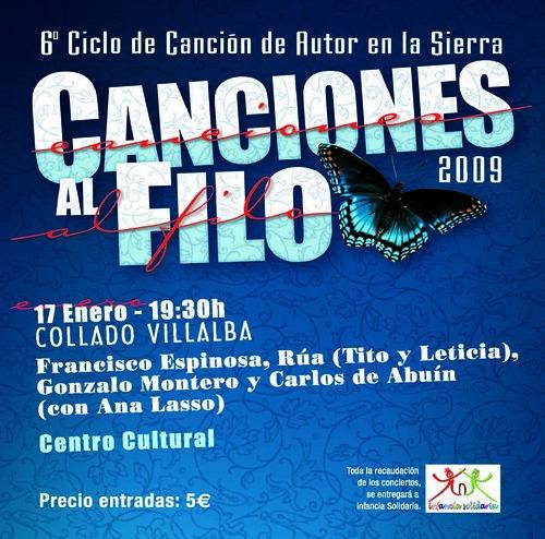 Canciones al filo 2009 / 17 de enero
