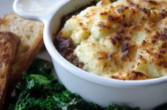 duck shepherd's pie at collins pub