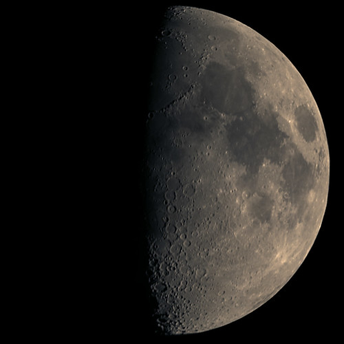 The Moon on 3/4/09