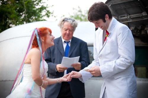 Ceremony giggles