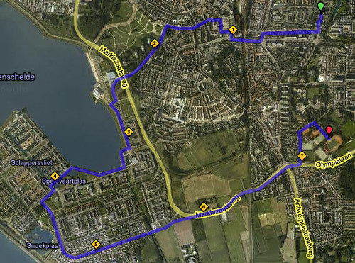 Parcours training 21 augustus 2008