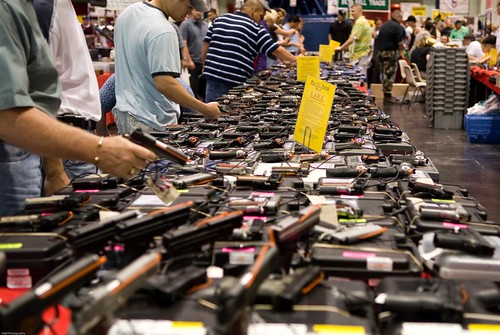Gun Show Sales Explode before Coronation of the Annointed One!
