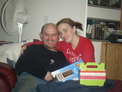 Me & David Christmas 2008