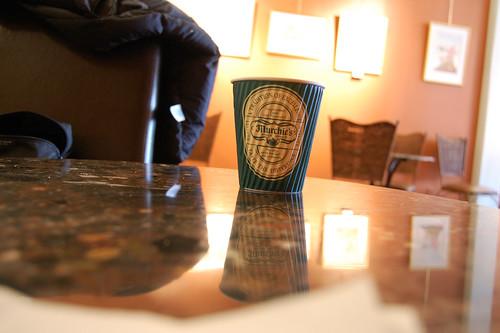 Coffee at the Murchies Tea Salon