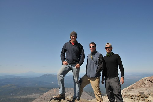 Hiking up Mt. Lassen