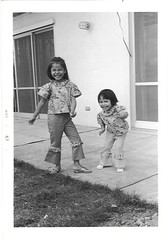 Dancing with my big sister Janet, Okinawa