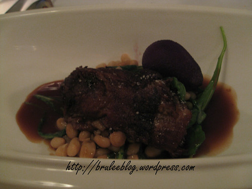 Slow braised duck thigh