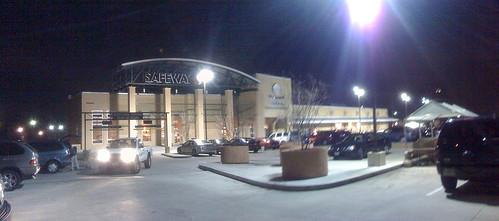 Safeway at night - Kensington, MD