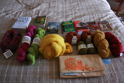 The Haul (the Octopus Needle Holder is probably my favorite thing ever!)