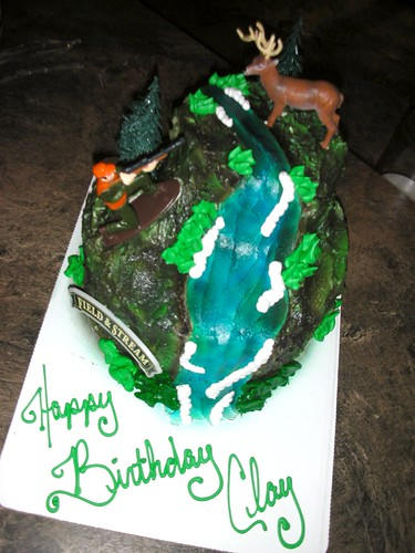 Clay's Birthday Cake