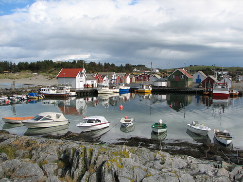 The harbour of Ølberg