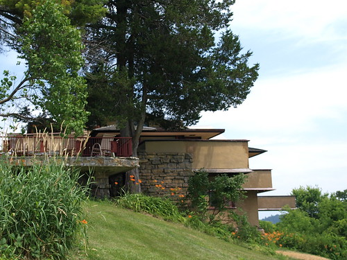 Taliesin Viewed from the South Lawn