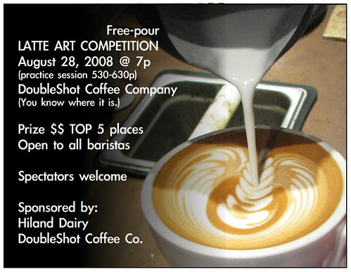 Double Shot Cafe Latte Art Competition
