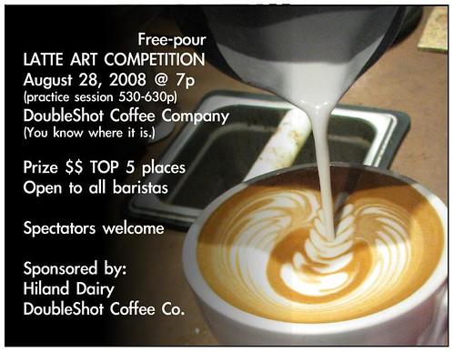 Double Shot Cafe Latte Art Competition