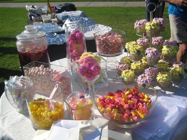 Liz's Wedding Shower - Candy Buffet