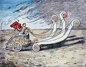Giorgio de Chirico. La Biga Invincibile.
