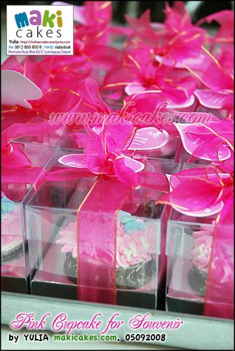 Pink Cupcake for Souvenir__ - Maki Cakes