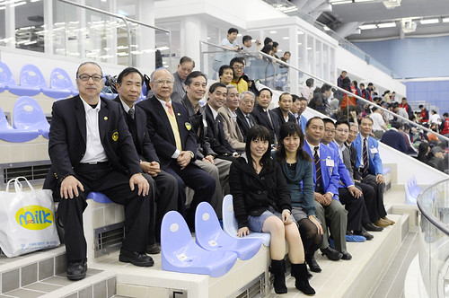 47HKM05港澳代表隊負責人攝於嘉賓席上