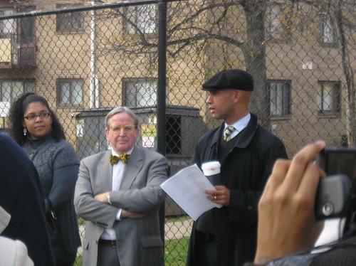 Mayor Fenty and Jim Graham