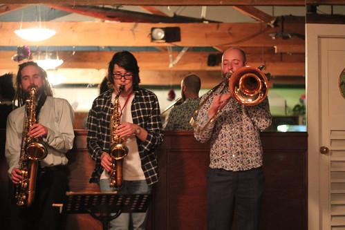 Gareth on the Trombone