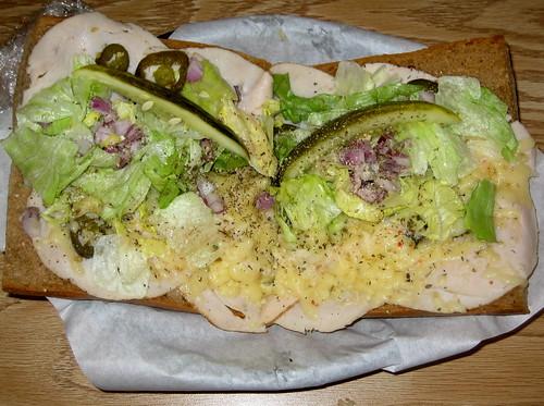 The Afgani (Turkey Sandwich)