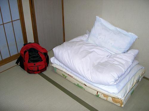 Habitación estilo japonés.