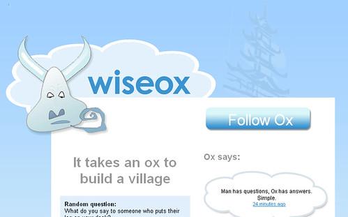 Twitter wiseox