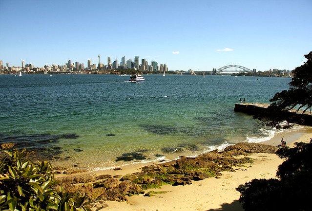 Sydney seen from Mosman
