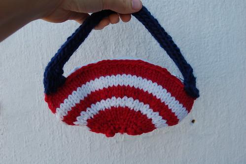 Its a change purse - cute!