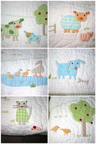 Nursery quilt