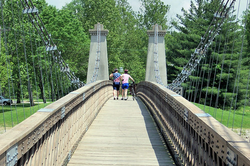 1859 General Dean Suspension Bridge