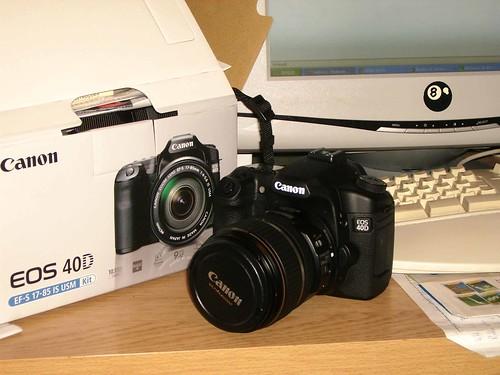 Mi nuevo juguete Canon 40D