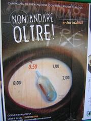 Campagna di prevenzione contro l'abuso di alcool- Comune di Ancona