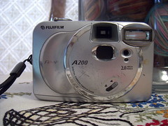 My oldest digital camera~ front