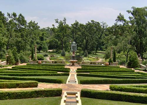 Philbrook Museum garden