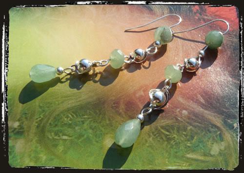 Orecchini verdi - Green earrings MEHGAVG