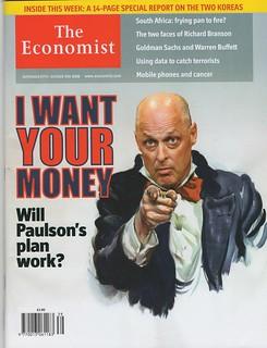 Economist: Paulson Wants Your Money