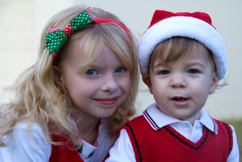 Christmas card photos - 2008