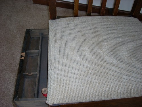 sewing chair drawer