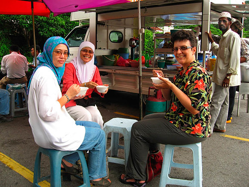 We are eating cendol