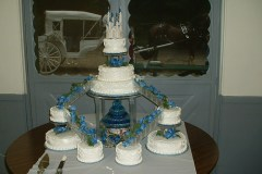 Wedding cake fit for a queen.