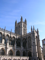Bath Abbey, Bath UK.