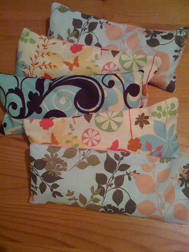 Lavender Eye Pillows Finished