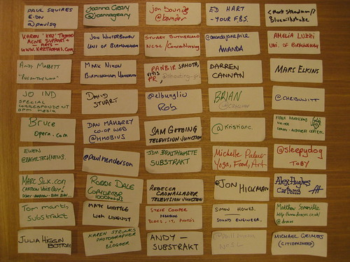 Birmingham Social Media Cafe Jan 09