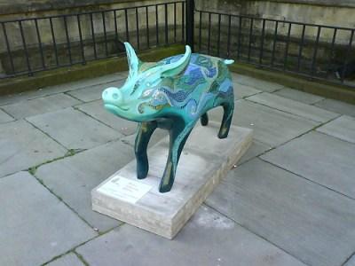 Bath Pig