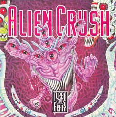 front cover for Alien Crush