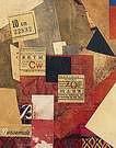 Kurt Schwitters. Merz 163. 1920.
